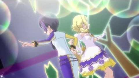 (HD) Pretty Rhythm Rainbow Live - ITO & OTOHA - 「ALIVE」 (episode 37)