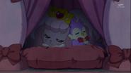 Pafu y Aroma descansando