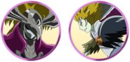 Yes! Pretty Cure 5 GoGo! Boss faces
