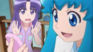 Hime le dice a Seiji que le pase a Yuya