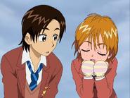 Nagisa pensando chocolate fujip
