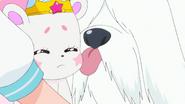 STPC33 Unicorn Fuwa apologies to Yeti and Yeti licks Fuwa