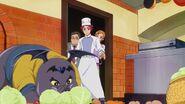 Mana's parents looking at the Jikochuu