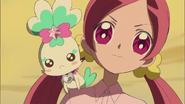 Tsubomi llega a la conclusión que aparecera la tercera Pretty Cure