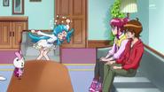 Hime sosprendida porque megumi y seiji son como hermanos