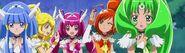 Las Smile Pretty Cure, con sus nuevos Cure Decors