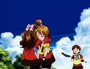 Yuka recoge nagisa