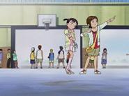 Nao miu imitando nagisa honoka baloncesto