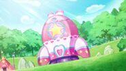 Cohete de las Pretty Cure terminado