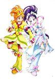 Futago Kamikita All Precure Illustration Splash Star 2