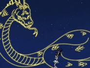 White ataca serpiente constelación