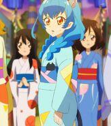 Yuni en su yukata (STPC25)