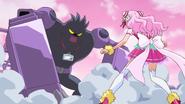 HuPC02.61-Cure Yell enfrentando al Oshimaida