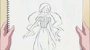 Boceto hecho por Tsubomi