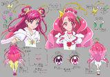 Settei Dream Cure Grace (head)