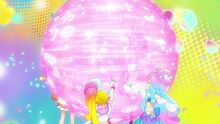 Land Beat Dynamic A pink sphere appears before the Cures