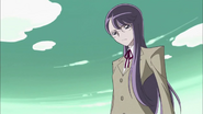 Yuri observando el combate