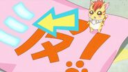 Error de kanji en la pancarta