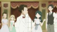 30. Kimimaro junto a las amigas de Minami