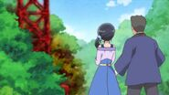 Chiyu y Kawai ven la toma de agua infectada