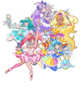 Star Twinkle Five Cures Visual Toei
