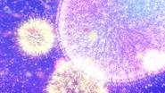 Explosiones de flores en el cielo