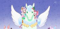 KKPCALM48-Parfait Pekorin riding crystal pegasus together