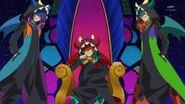 Lock y sus dobles en el trono de Dyspar