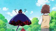 Michio se da cuenta de que Nodoka no invoca a los Megabyougen