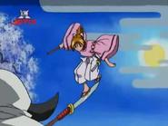 Naguisa como Ushiwaka-maru