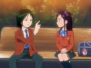 Honoka pregunta dedo kiriya