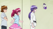 Megumi intenta convencera Iona
