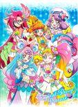 Tropical-Rouge! Pretty Cure mini towel