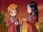 Nagisa honoka con funda card commune