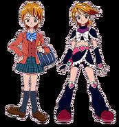 Nagisa y Cure Black (FutariWa)