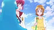 Yuko aparece de improviso