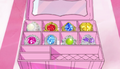 Eight Linkle Stones inside Box