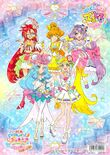 Tropical-Rouge! Pretty Cure movie coloring book