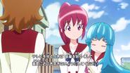 Hime tratando de evadir la pregunta de Yuko