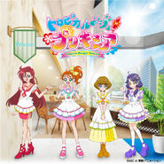 Tropical-Rouge! Pretty Cure Lunch and Dinner Show visual