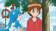 Hime le pregunta a Seiji si está bien asi