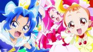KiraKira Precure A la Mode Group Transformation