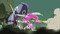 Blossom peleando