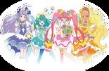 Star Twinkle Pretty Cure merch banner