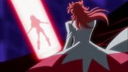 Kumojaki tomando la Flor Corazón de Naomi