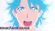 Blue aparece en el cementerio de Pretty Cure