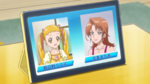 Miracle Leap Urara and Maria cameo