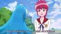 Megumi diciendole que estara bien