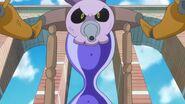 Yokubaru dirigiendose hacia las cures