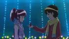 Seiji giving Megumi her Christmas present